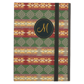 Ethnic tribal african striped pattern. iPad air case