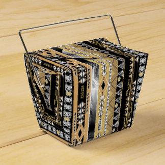 Ethnic , tribal, ornament favour box