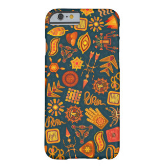 Ethnic tribal shapes pattern, iPhone 6/6s case