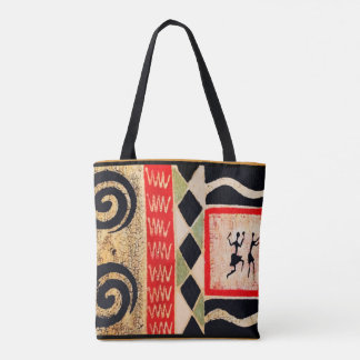 Ethnic Tribal Tote Bag for Mom's Day Gift