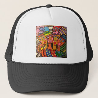 ethnic trucker hat