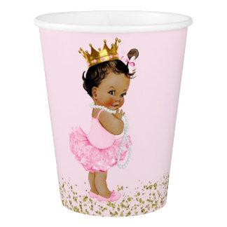 Ethnic Tutu Princess Pink Gold Baby Shower