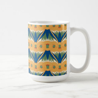 Ethnic Vintage Abstract Fabric Coffee Mug