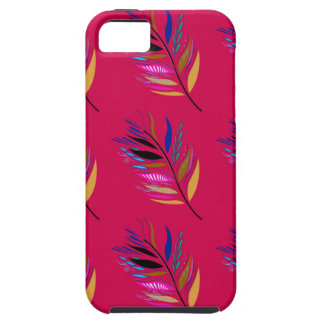 ETHNO DESIGN Leaves Pink Case For The iPhone 5