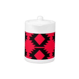 Ethno design  Red  mayan design