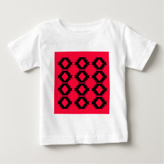 Ethno design  Red  mayan design Baby T-Shirt