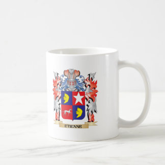 Etienne Coat of Arms - Family Crest Coffee Mug