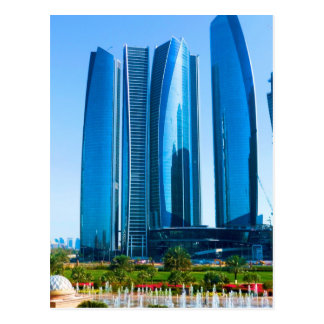 Etihad Towers Postcard