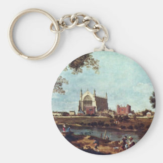 Eton College By Canaletto Key Ring