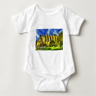 Eton College Chapel Art Baby Bodysuit
