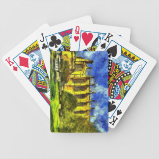 Eton College Chapel Art Bicycle Playing Cards