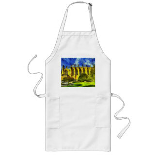 Eton College Chapel Art Long Apron