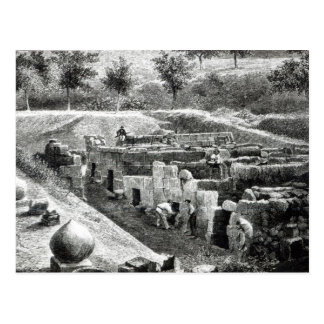 Etruscan Tombs Postcard