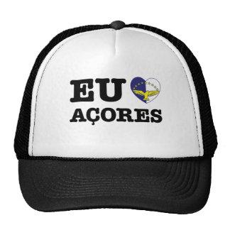 Eu Amo Açores Trucker Hat