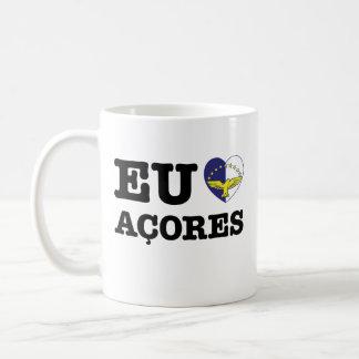 Eu Amo Açores Coffee Mugs