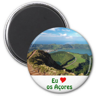 Eu Amo os Açores Refrigerator Magnet
