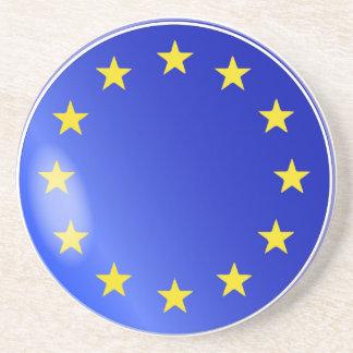 EU Button Coaster
