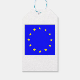EU European flag Gift Tags
