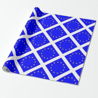 EU European flag Wrapping Paper