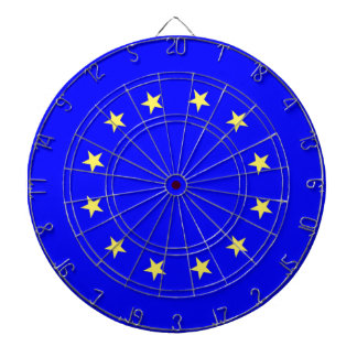 EU European Union flag Dartboards