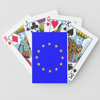 EU flag 2 Bicycle Playing Cards