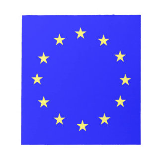 EU flag 2 Notepad