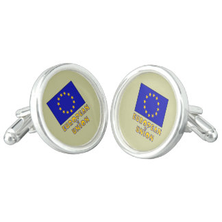 EU Flag and European Union Cufflinks