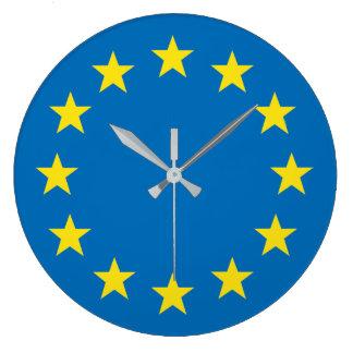 EU flag (European Union) clock