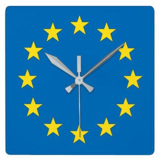 EU flag (European Union) clock for Remainers