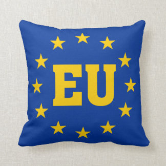 EU Flag, European Union Cushion