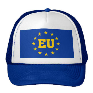 EU Flag, European Union Supporters Hat. Cap