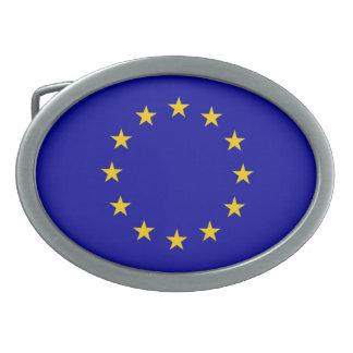 EU flag Oval Belt Buckles