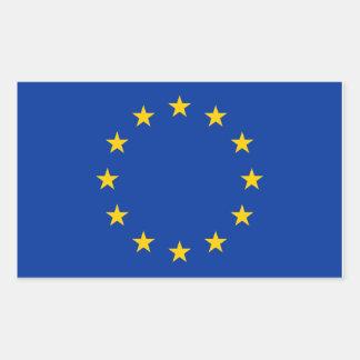 EU flag Rectangular Sticker