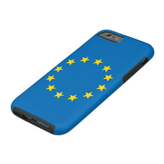 EU flag StrongerIn (Remain) iPhone; European Union Tough iPhone 6 Case