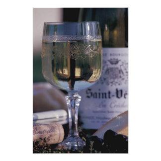 EU, France, Chablis, Local wine Photo Art