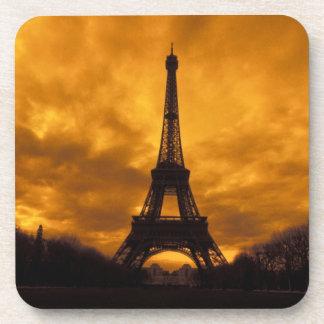 EU, France, Paris.  Eiffel Tower. Coasters