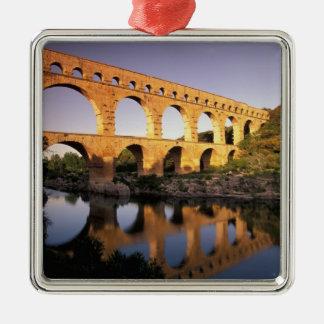 EU, France, Provence, Gard, Pont du Gard. Metal Ornament