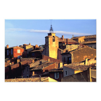 EU, France, Provence, Vaucluse, Roussillon. 3 Photo Art