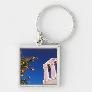 EU, Greece. Greek Orthodox church Key Chain