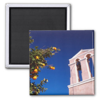 EU, Greece. Greek Orthodox church Magnet