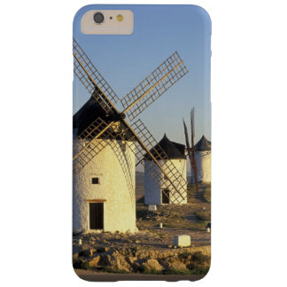 EU, Spain, La Mancha, Consuegra. Windmills and Barely There iPhone 6 Plus Case
