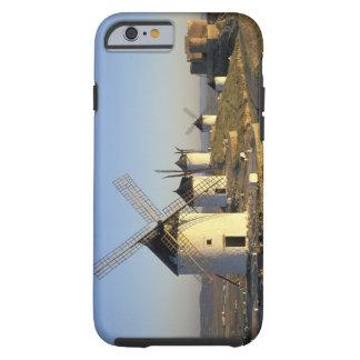 EU, Spain, La Mancha, Consuegra. Windmills and Tough iPhone 6 Case