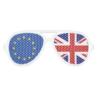 EU UK referendum BREXIT voting party shades