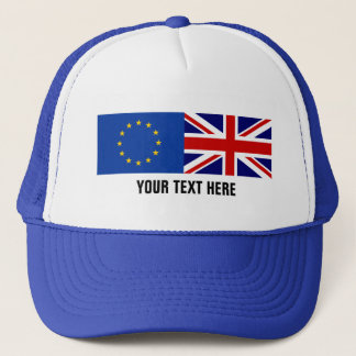 EU UK referendum BREXIT voting trucker hat