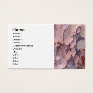 Eucalyptus Bark Business Card