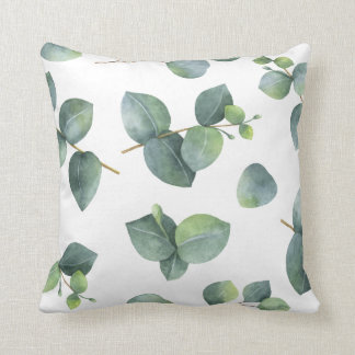 Eucalyptus Foliage Pattern Cushion