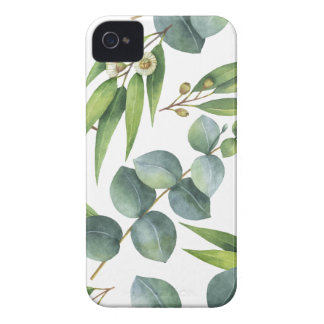 Eucalyptus Foliage Pattern iPhone 4 Covers