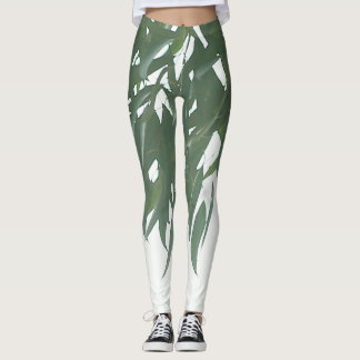 Eucalyptus leaves leggings
