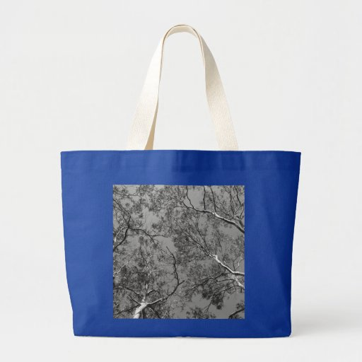 Eucalyptus Tree Branches Tote Bags