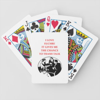 EUCHRE BICYCLE PLAYING CARDS